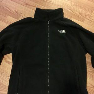 The North Face Black Fleece Zip-Up Jacket